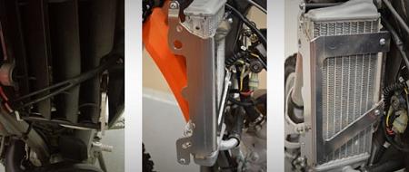 E-Start 2017-2018 Enduro Engineering Radiator Braces for KTM 300 XC-W
