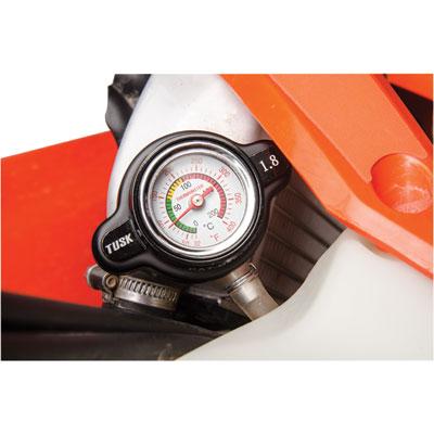 High Pressure Radiator Cap with Temperature Gauge 2.0 Bar for Husqvarna TE 449 2011-2013