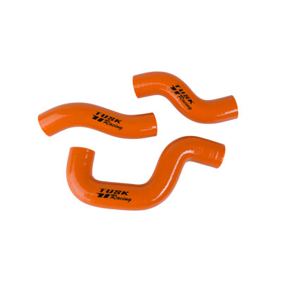 Tusk Radiator Hose Kit Orange for KTM 300 XC-W Six Days 2014-2016