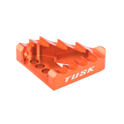 Lever saver cable KTM 250 SX 2011–2016 Tusk Aluminum Brake Pedal Orange Tip