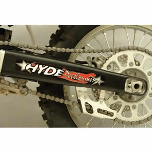 Hyde Racing Swing Arm Protectors (with Brake Disc Guard)