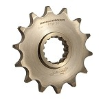 Iron Man Front Chrome-Molly Steel Sprocket