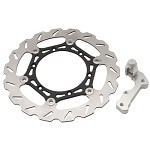 Tusk Oversized Floating Front Typhoon Brake Rotor Kit