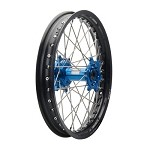Tusk Complete Rear Wheel (Black Rim/Silver Spoke/Blue Hub)