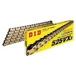 DID 525VX3 Gold X-Ring Professional Chain