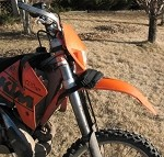 Dirt Bike Gear Spare Tube Bag