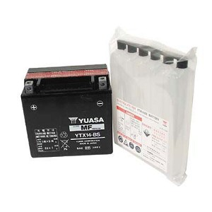 YUASA No Maintenance Lead Acid Battery