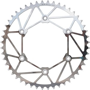 Iron Man Rear Chrome-Molly Steel Sprocket